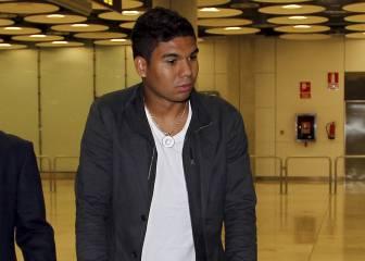 Casemiro se incorpora de inicio a la pretemporada del Madrid