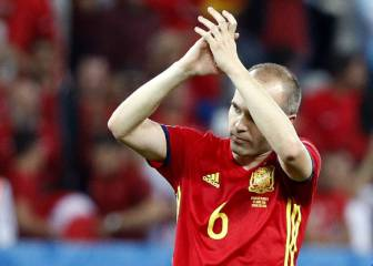 Iniesta, nombrado 9 veces MVP entre Mundiales y Eurocopas