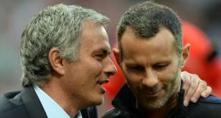 Times: Mourinho teme a Giggs y le veta del banquillo del United