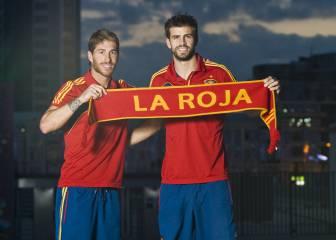 Sergio Ramos y Gerard Piqué, los pilares de la Selección