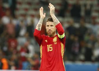 Ramos: jugador de campo con más partidos con la Selección