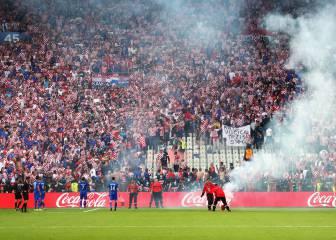 La federación croata avisó a la UEFA de la acción de sus ultras
