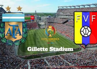 Argentina 4 vs 1 Venezuela: resumen, resultado y goles