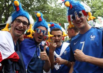 Francia se disfraza hoy