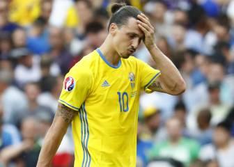 Suecia e Ibra conforman el peor ataque: 0 tiros en 180'