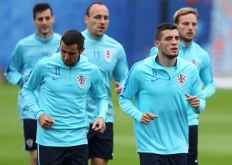 Modric no entrenó con Croacia a 2 días de jugar contra España
