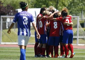 Exhibición del Atlético Féminas ante el campeón de Copa
