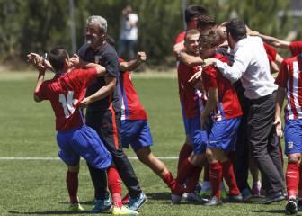 El Atlético, en la final de Copa del Rey Juvenil tras 58 años