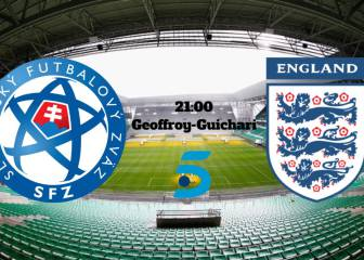 Eslovaquia vs Inglaterra vivo online: Eurocopa 2016, Grupo B