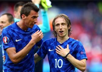 Modric está descartado y Mandzukic lo tiene muy difícil