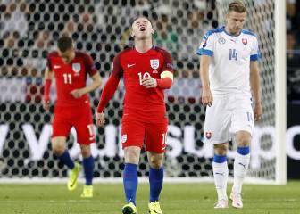 Una Inglaterra sin pólvora cede el liderato del Grupo B a Gales