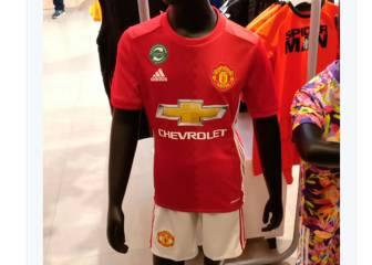 En la India ya puedes comprar la nueva camiseta del United