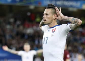 La Juventus tantea a Hamsik como el sustituto de Pogba