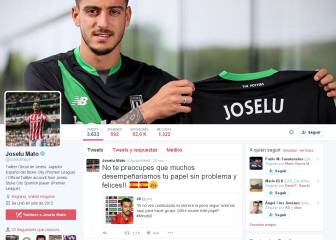 Joselu arremete contra Pedro en Twitter por sus palabras