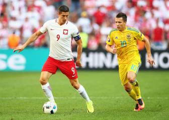Ucrania 0 - 1 Polonia: resumen, resultados y goles