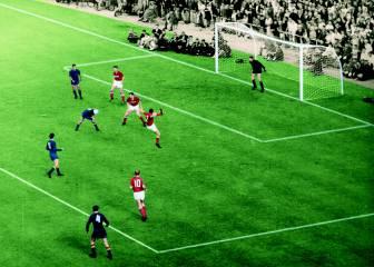 Marcelino marca el gol más renombrado (1964)