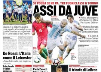 Los tres fichajes que plantea la Juventus si pierden a Pogba