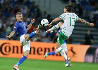 Italia 0 - 1 Irlanda: resumen, resultados y goles