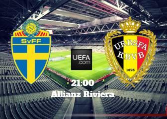 Suecia vs Bélgica en Vivo Online: Eurocopa 2016, Grupo E