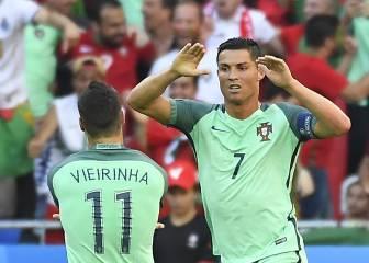 Cristiano se sale y Portugal se clasifica como tercera