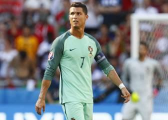 Cristiano es el segundo goleador histórico de las Euros