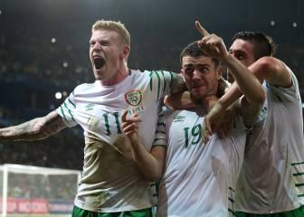 Milagro de Brady para Irlanda; Italia sestea con reservas