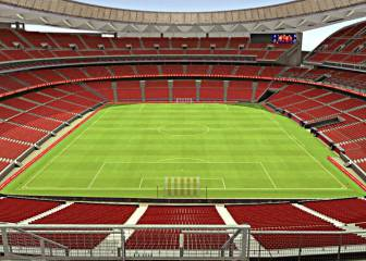 La cubierta del nuevo estadio ya ha comenzado a llegar
