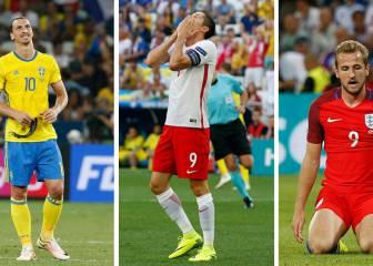 Los pichichis europeos, con la pólvora mojada en la Eurocopa