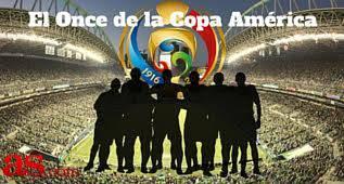 El mejor once de la Copa América Centenario para AS