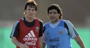 "Maradona avisa a Argentina: ""Si no ganáis la Copa, no volváis"""