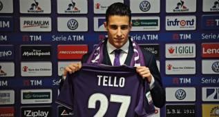 El agente de Tello confirma que quiere quedarse en la Fiorentina
