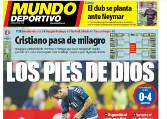 MD: el club se planta y no mejorará su oferta a Neymar