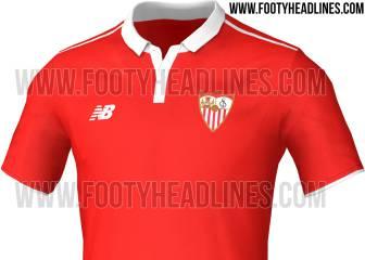 Se filtra la posible segunda equipación del Sevilla