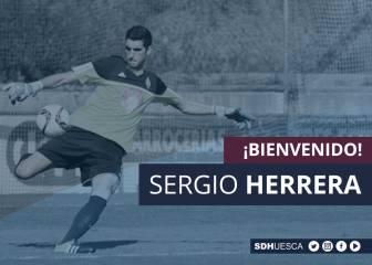 El Huesca ficha a Sergio Herrera por tres temporadas