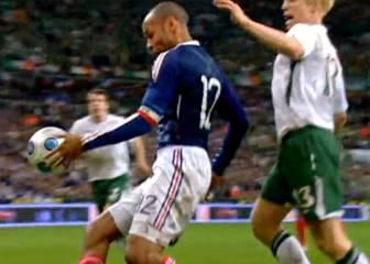 Irlanda casi dejó fuera del Mundial 2010 a Francia