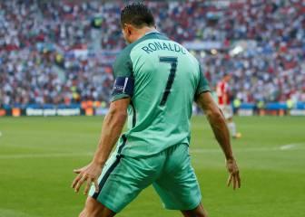 Cristiano, a un gol de igualar a Michel Platini en Eurocopas