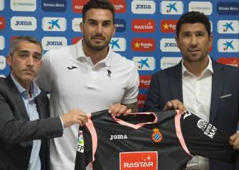 Roberto fue puntual a la cita del primer fichaje del Espanyol