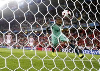 Croacia-Portugal en imágenes