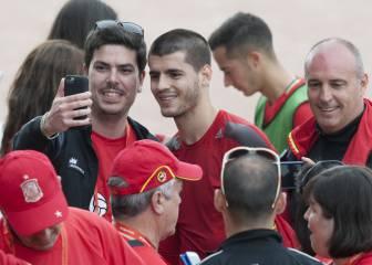 "Italia mete miedo a España: ""Morata, ponte casco"""