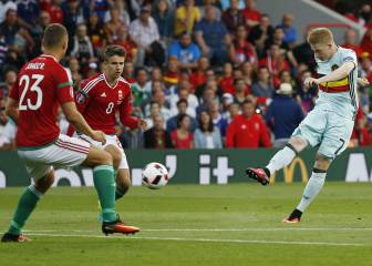 Hungría 0 - 4 Bélgica: resumen, resultados y goles