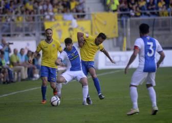 Hércules 0- 1 Cádiz: resumen, resultados y goles
