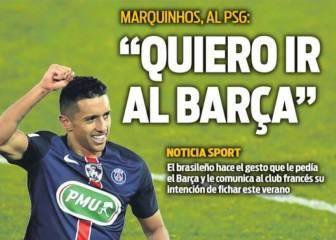 Neymar y Marquinhos, los culebrones en la prensa