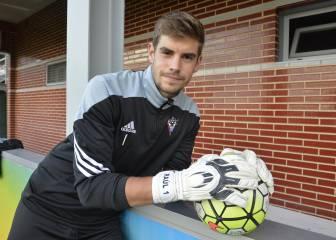 El guardameta Raúl Fernández, a un paso del Real Zaragoza