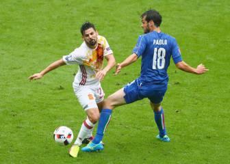 Italia 2 - 0 España: resumen, resultado y goles