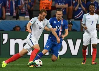 Inglaterra 1 - 2 Islandia: resumen, resultado y goles