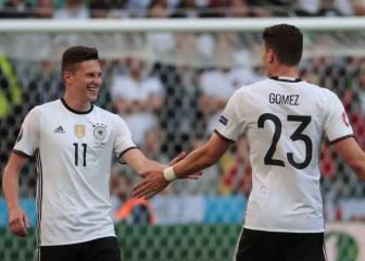 Draxler, Kimmich y Gómez, el trío que cambia a Alemania