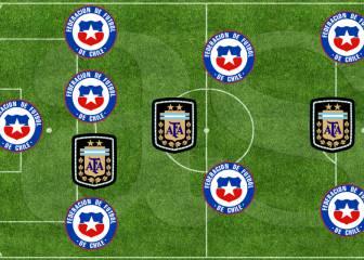 8 chilenos y 3 argentinos en el once ideal de la Copa América