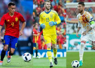 Los errores de los jugadores españoles en la Euro 2016