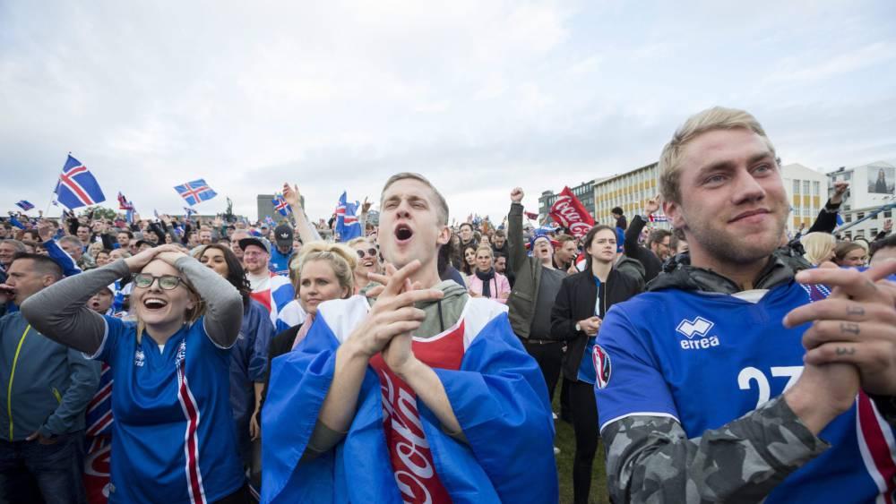 El partido con Inglaterra tuvo un 99,8% de audiencia en Islandia