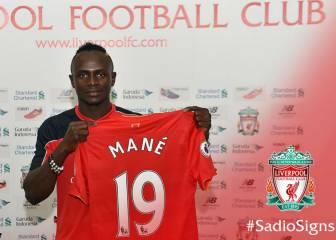 El Liverpool paga 41 millones al Southampton por Mané